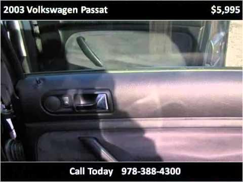 2003 Volkswagen Passat Used Cars Amesbury MA