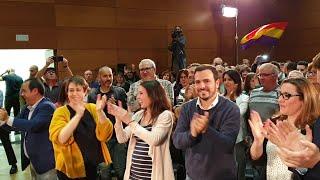 Irene Montero y Alberto Garzon abren campaña electoral en Toledo