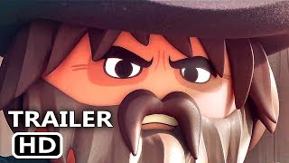 PLAYMOBIL THE MOVIE Official Trailer (2019) Animation Movie HD
