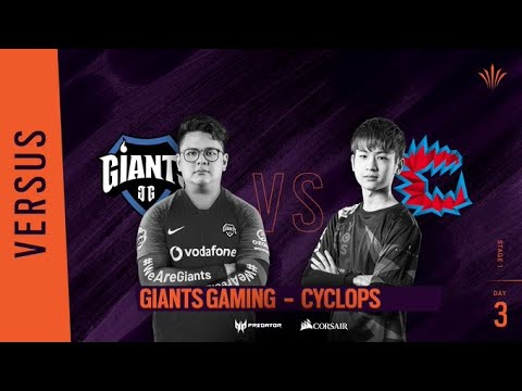 Giants Gaming vs Cyclop // Rainbow Six APAC North Division - Playday #3