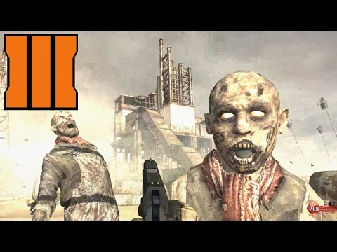 """BLACK OPS 3 """"RUST"""" ZOMBIES REMASTER Call of Duty BO3 MW2 Map Remake Gameplay"""