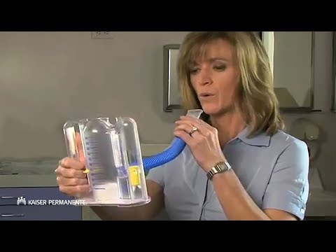 Learn to Use an Incentive Spirometer