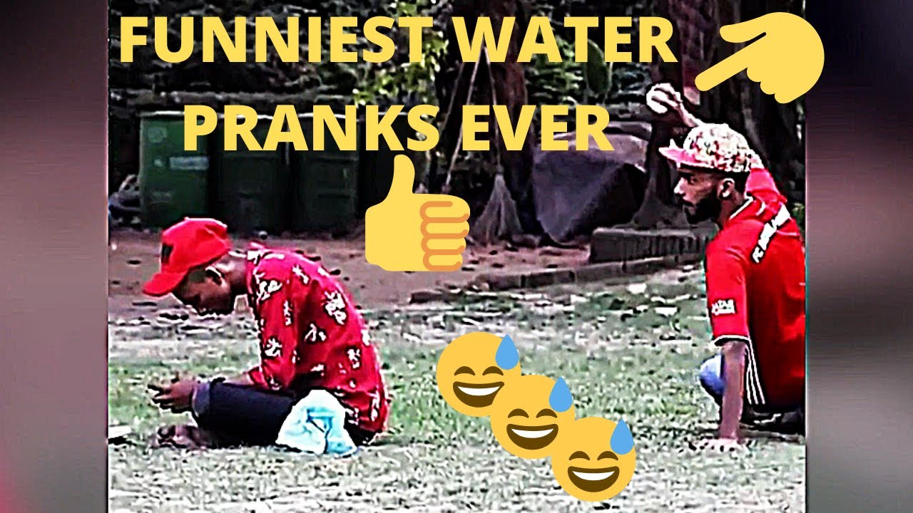 I CAN NOT STOP LAUGHING FUNNY PRANKS WATER PRANKS