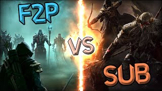 THE ELDER SCROLLS ONLINE: To SUB or NOT to SUB? That is the question...