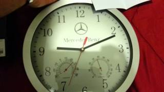 Mercedes Wall Clock Orologio Da Parete Wanduhr