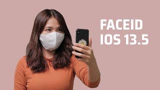 Đeo khẩu trang thử FaceID trên iOS 13.5 mới