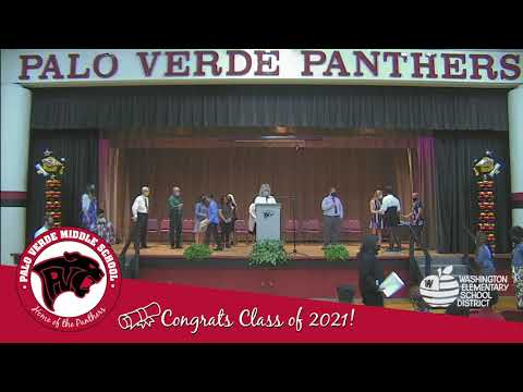 Palo Verde Middle School 8th Grade Promotion 2021 - Bengals and Bobcats Teams