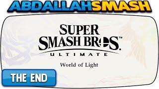 WORLD OF LIGHT Full Game 100% Walkthrough FINAL BOSS | Super Smash Bros Ultimate
