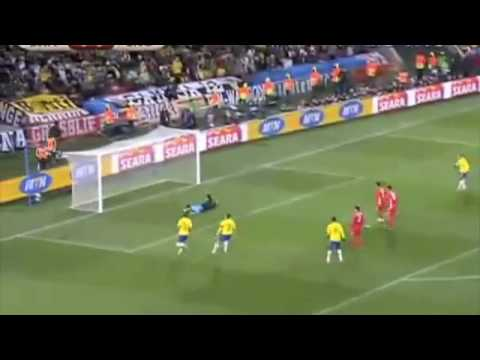 DKP North Korea - Brazil 1-0    On North Korea TV - Propaganda