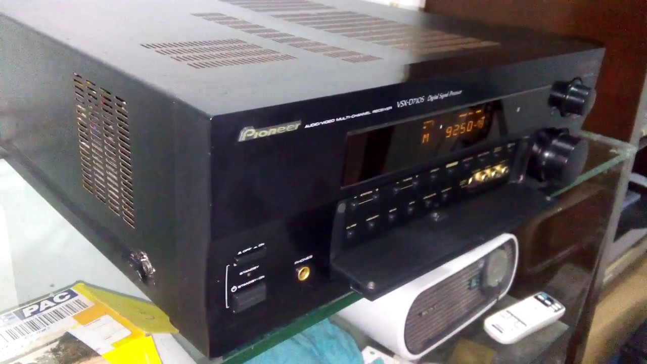 Hi vision vintages e raridades receiver pioneer vsxd 710s youtube hi vision vintages e raridades receiver pioneer vsxd 710s fandeluxe Choice Image