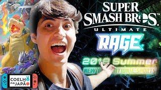 Veja no Japão o 1º Evento de Smash Ultimate fora da E3 - Rage Summer 2018 no Japão