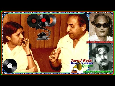 #.(0.RAFI & LATA~Film~RAAT KI RAANI:{1949}.Us Chaand Se Pyaare Chaand Ho Tum.[ Great -78 RPM Audio