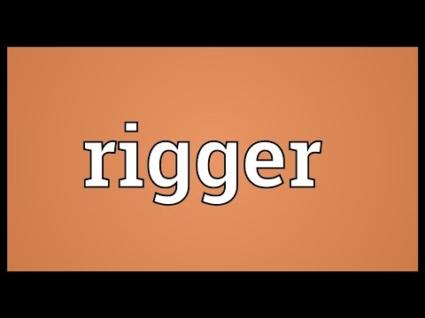Rigger Meaning
