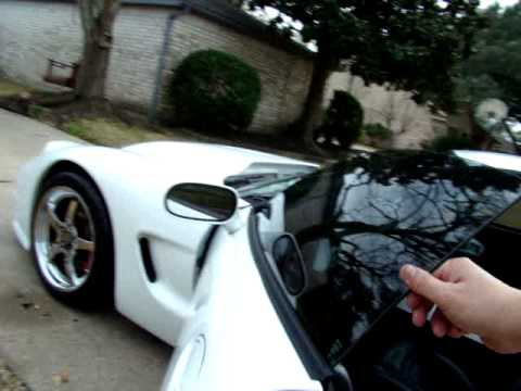 2000 Corvette Walk Around - Arctic White - Tiger Shark (FOR SALE - Spring Texas))