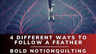 Feathers 4 ways