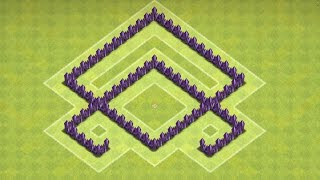 Clash of Clans - Best Town hall 4 Farming Base ( town hall 4 farming ) Speed build 2014 !
