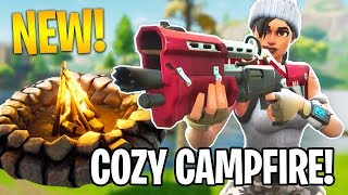 NEW UPDATE!! *COZY CAMPFIRE* (Fortnite Battle Royale)