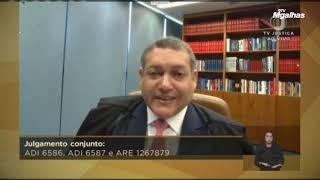 Nunes Marques diz que vacinação obrigatória só após campanha voluntária não surtir efeito