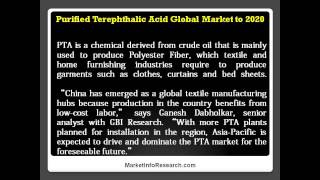 China and India to Lead Global Purified Terephthalic Acid Demand Growth by 2020