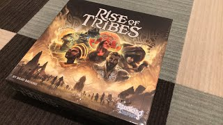 Unboxing the Rise of Tribes Board Game