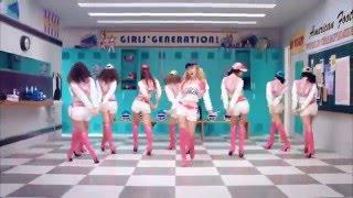 韓国の女性 アイドル Asian No.1 Girl band SNSD's new official 2nd Al...