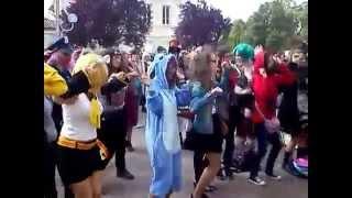 Caramelldansen flashmob ANIMASIA 2014