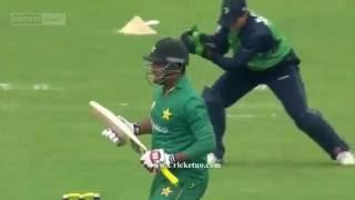 vuclip Sharjeel Khan 152 Runs off 86 Balls Full Highlights Ireland vs Pakistan 1st ODI 2016 Highlights   HD