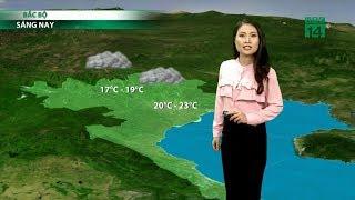 Thời tiết 6h 24/10/2019: Không khí lạnh gây mưa, miền Bắc giảm nhiệt nhanh| VTC14