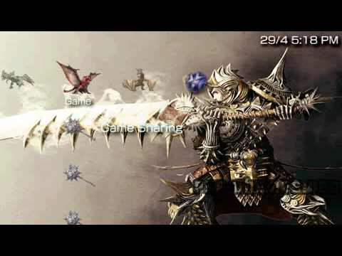 PSP Theme Monster Hunter PSP-Themes NET - YouTube