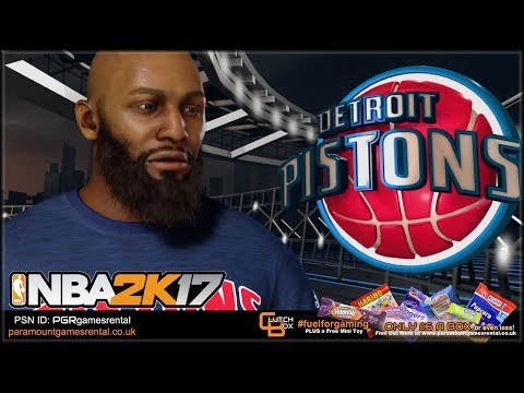 NBA2k17 Mycareer - Detroit Pistons Rookie Season