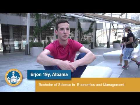 My Life as an International Student at Università Cattolica - Erjon (Albania)