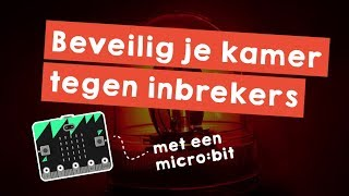Programmeer een kamer alarm met je Microbit