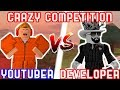 Youtubers vs roblox developers roblox challenges mp3