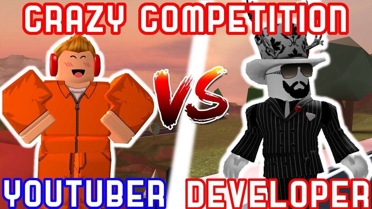 Youtubers Vs Roblox Developers Roblox Challenges Youtube