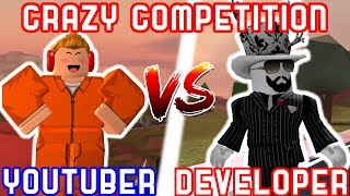 YOUTUBERS VS ROBLOX DEVELOPERS!! - Roblox Challenges