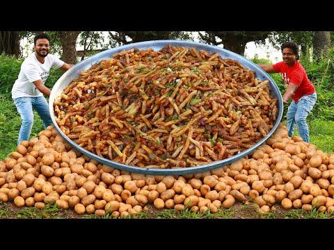 honey-chilli-potato-recipe- -chilli-potatoes-recipe- -easy-potato-starter-recipe-by-grandpa-kitchen