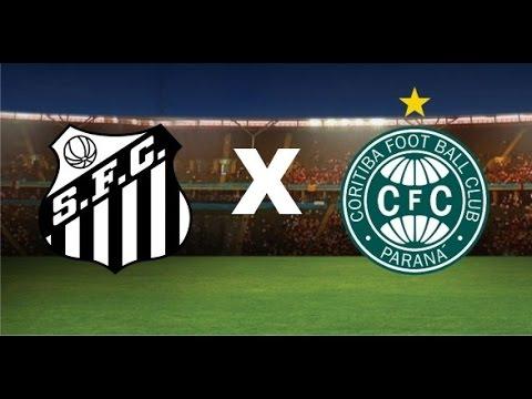 Santos 2 x 1 Coritiba, GOLS - Brasileirão 2016