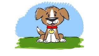 Bir karikatür Köpek çizmek için nasıl