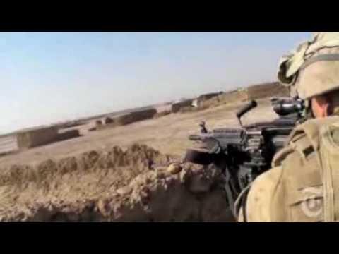 Soldados Americanos Na Guerra Do Afeganistão.