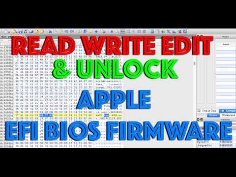 APPLE MACBOOK UNLOCK EFI BIOS FIRMWARE REMOVE PASSWORD