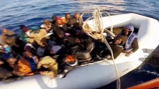 boat capsizes off libya coast hundreds feared dead