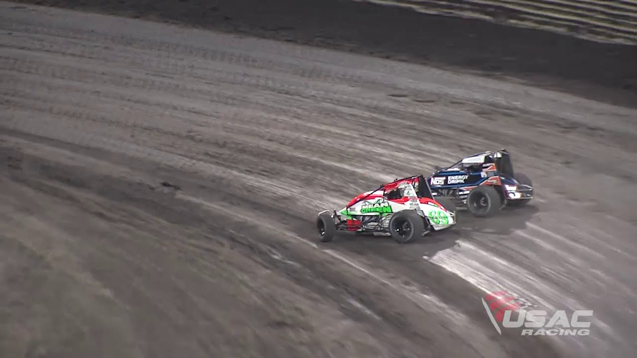 AMSOIL USAC National Sprint Car Series - Knoxville Night #1 Highlights