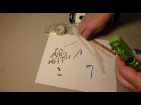 how to make paper beads part 2  homemade paper bead roller, and how to roll beads 3 ways