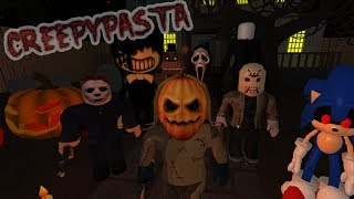 THE ELEVATOR OF THE CREEPYPASTA IN ROBLOX avec Massi Whitezunder et Elyas