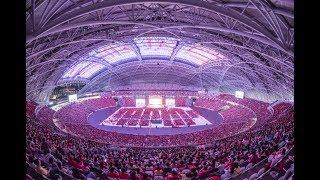 卢台长2017年2月18日新加坡八万人《玄艺综述》解答会看图腾