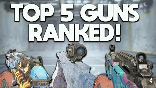 TOP 5 BEST GUNS in COD MOBILE (RANKED)