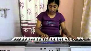 old hindi song  dum dum diga diga from chhalia on keyboard by s.mythily