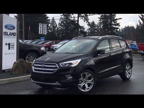 2017 Ford Escape Titanium+ Heated Steering Wheel Review   Island Ford