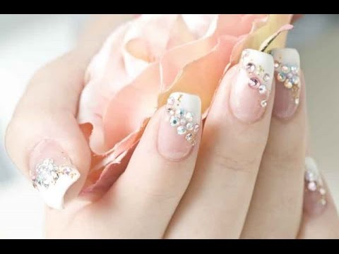 French Polish Nail Designs Youtube