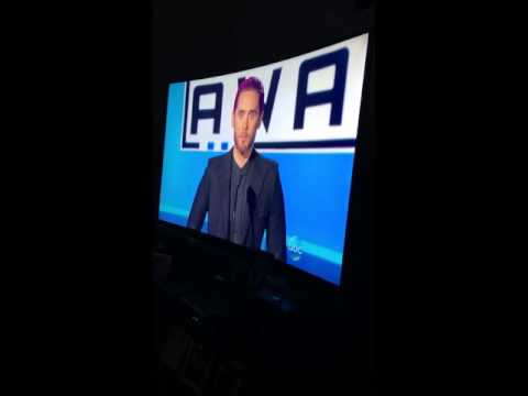 2015 AMAs - Jared Leto speech